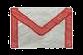 Logo gmail en tiza